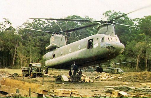 Boeing CH-47 helicopter - A Vietnam Experience.