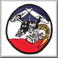 243rd ASHC unit patch from their days in the Republic of Vietnam.