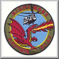 Unit patch of 2nd Battalion, 52nd Aviation Regiment, Camp Humphreys, Republic of Korea, circa 1996